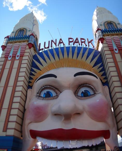 Un parc d'attraction qui est là depuis le début du 20ème siècle, porte d'origine !