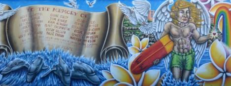 Mémorial pour les australiens morts pendant les attentats de 2002 à Bali